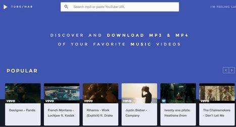 TubeNab. Découvrir et télécharger les derniers clips vidéo – Best Outils | Les outils du Web 2.0 | Scoop.it
