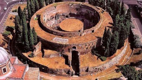 3D Reconstruction Glimpses Into The Mausoleum of Augustus   Roman Technology   Scoop.it