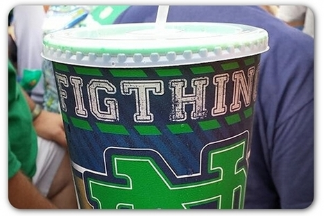 Notre Dame to change misspelled souvenir cups | Public Relations and Sports | Scoop.it