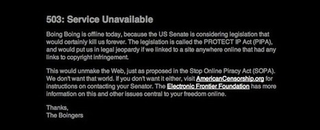 Your One-Minute Guide To SOPA And PIPA, Who's Protesting And Why | Fast Company | Economy Stupid | Scoop.it