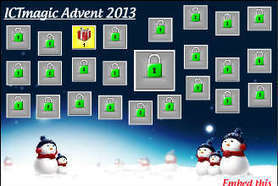ICTmagic Christmas Advent Calendar (2013) for Schools and Educators   web 2.0 alati   Scoop.it