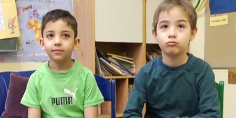German Boy Forms Inseparable Bond With Young Syrian Refugee | Angelika's German Magazine | Scoop.it