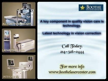 Latest Technologies available in Boothe Eye Care | BOOTHE EYE CARE & LASER CENTER | Scoop.it