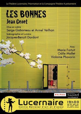 Les Bonnes au théâtre du Lucernaire | Paris Secret et Insolite | Scoop.it