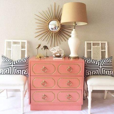 Une touche de corail dans la chambre – Cocon de décoration: le blog | Lifestyle | Scoop.it