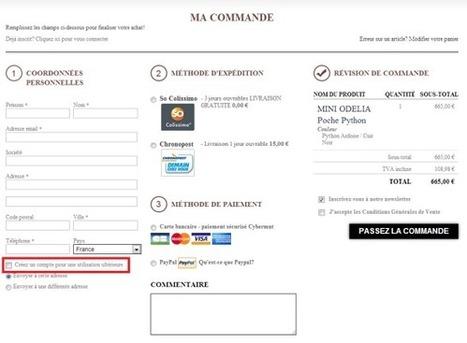 E-commercants: n'obligez pas vos internautes à créer un compte client | creation de sites web | Scoop.it