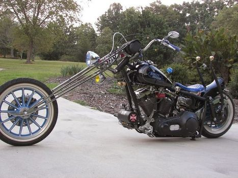 Rat Rod Bike of Robert Durham | Bikez | Scoop.it