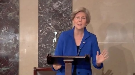 Elizabeth Warren: GOP 'anarchy gang' attacks imaginary 'bogeyman government' | political sceptic | Scoop.it