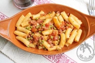 Ricetta Tortiglioni con salsiccia piselli e pomodoro   La Cucina Italiana - De Italiaanse Keuken - The Italian Kitchen   Scoop.it