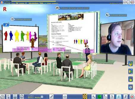 vAcademia: A virtual world for education | Homeschoolsource | Scoop.it