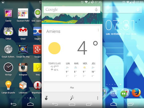 Google Now launcher disponible pour tout le monde… ou presque ... | GeekThis | Scoop.it