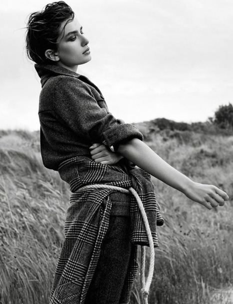 [editorial] 'Vent Du Nord' | Andreea Diaconu shot by Gregory Harris for Vogue Paris October 2014 | CHICS & FASHION | Scoop.it