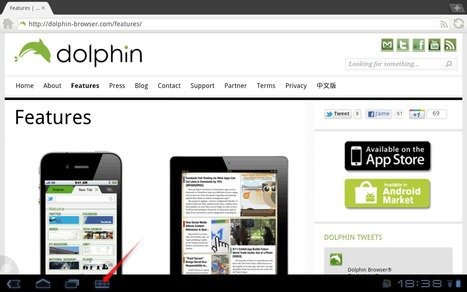 Dolphin Browser HD pour Android : Comment changer le User Agent? | mlearn | Scoop.it