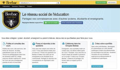 Beebac le premier réseau social exclusivement dédié à l'éducation. | beebac | Scoop.it