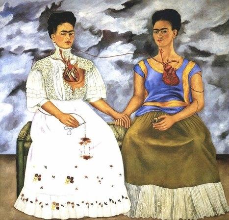 The Two Fridas, 1939, Frida Kahlo   Favorite Paintings digital   Scoop.it