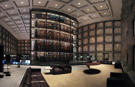 Yale University's Beinecke Rare Book and Manuscript Library | bibliothèque 2.0 | Scoop.it