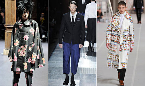 Comme des Garçons and Dries Van Noten Offer a Hint of Victoriana New York Time WF 2012 / 2013   COMME des   Scoop.it