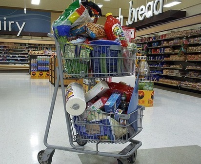 Do Super-Sized Shopping Carts Equal Super-Sized Bills? | It's Show Prep for Radio | Scoop.it