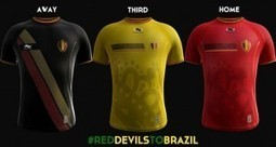 Belgium 2014 World Cup Jersey: Home, Away and Third Kit Released   Fifa World Cup 2014 Brazil   Scoop.it
