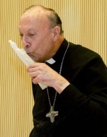 Archbishop prays while topless gay activists shout curses and douse him with water | LifeSiteNews.com | Reading, Writing, and Thinking | Scoop.it
