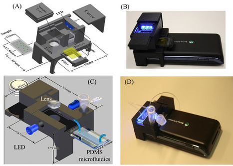 Scientists Convert a Cell Phone Camera to a Fluorescent Microscope, Flow Cytometer | Biomedical Electronics | Scoop.it