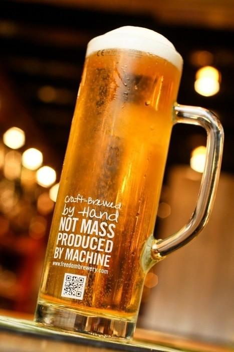 QR Code Beer Mug   Tag 2D & Vins   Scoop.it