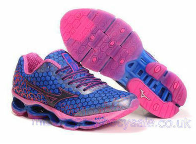 Mizuno Wave Prophecy 3 Womens Running Shoes Blue Pink.jpg (465x341 pixels)   fashionshoes   Scoop.it