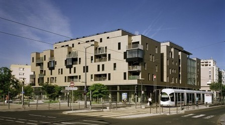 [Saint-Priest, France] 62 Housing Units in the Mozart ZAC / Tectoniques Architects | The Architecture of the City | Scoop.it