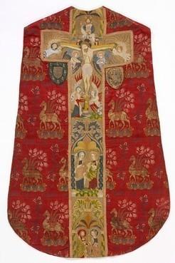 Gothic embroidery - Victoria and Albert Museum | Época Medieval: Vestuario y Calzado | Scoop.it