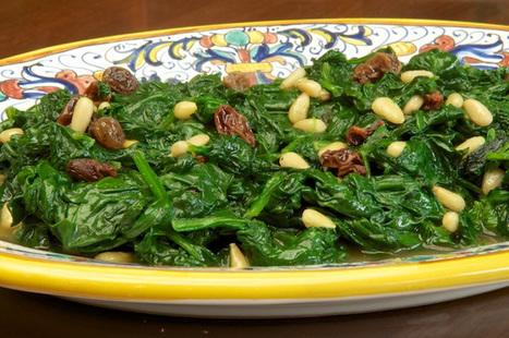 Spinaci alla romana - Roman-Style Spinach | cucina romana | Scoop.it