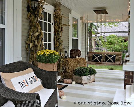 C mo decorar un porche en oto o - Como decorar un porche ...