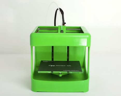 3D Printer For Kids Uses Low-Temperature Filament | 3D Virtual-Real Worlds: Ed Tech | Scoop.it