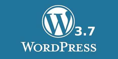 WordPress 3.7 Features - Automatic Updates, Password Meter and more | WordPress Tutorials | Scoop.it