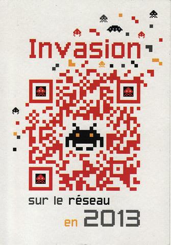 Invasion sur le réseau en 2013 | QR code experience | Scoop.it