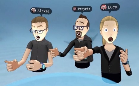 Oculus demos augmented social #virtualreality with facial expressions | Differentiated and ict Instruction | Scoop.it