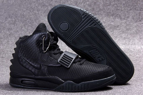 """All Black-Air Yeezy 2""""Blackout""""Men Trainers 