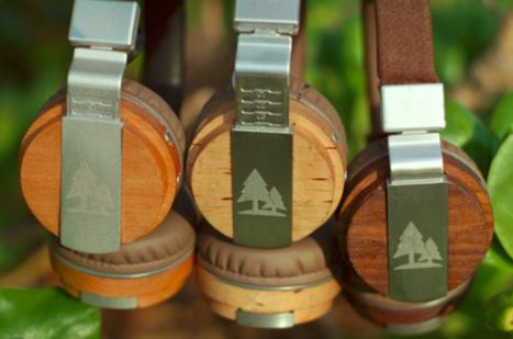 Timber Audio Prelude: casque Bluetooth en bois et alu qui s'utilise sans baladeur ou smartphone   ON-ZeGreen   Scoop.it