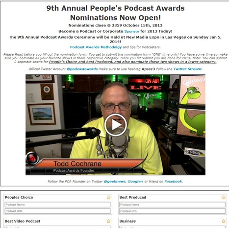 PodCastAwards.com | Podcasts | Scoop.it