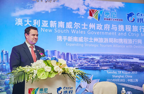 NSW's new chapter in Chinese tourism | Australian Tourism Export Council | Scoop.it
