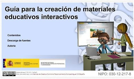 Guía para la creación de materiales educativos interactivos | E-learning, Moodle y la web 2.0 | Scoop.it