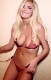 """Youtube Bends over backwards for Kate Upton """"Cat Daddy"""" Video! 
