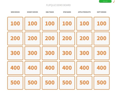 FlipQuiz: Old Game, Beautiful New Interface   online resources   Scoop.it
