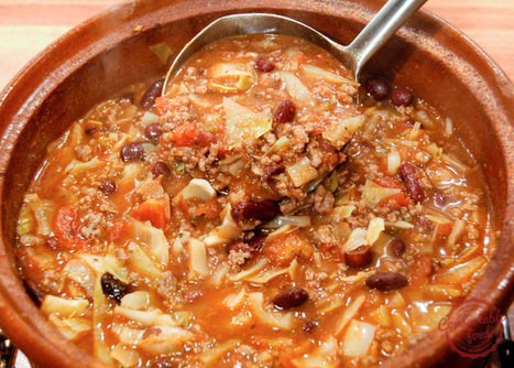 super easy beef and cabbage soup | Holistic Nutrition Health and Wellness | Scoop.it