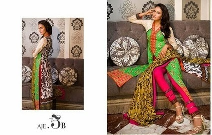 LONG SLEEVE DRESSES ASIM JOFA 2015 | Style360fashion | clothing and fashion new designs | Scoop.it