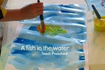 Fish in the water | messy play | Scoop.it