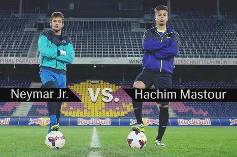 Reality Check: Neymar Jr. vs. Hachim Mastour | Red Bull Games | calcio | Scoop.it