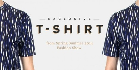 La t-shirt da uomo a stampa geometrica di Z Zegna | fashion and runway - sfilate e moda | Scoop.it