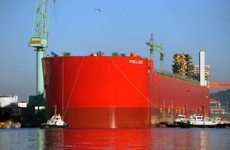 The World's Largest Mega-Ship Launches for the First Time | Autopia | Wired.com | wilson | Scoop.it