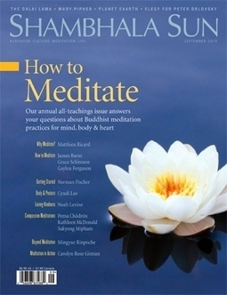 Shambhala Sun - Getting Started (How to Meditate / September 2010) | Integrative Medicine | Scoop.it