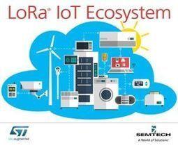 STMicroelectronics adopte la technologie LoRa de Semtech - VIPress.net | Ville de demain | Scoop.it
